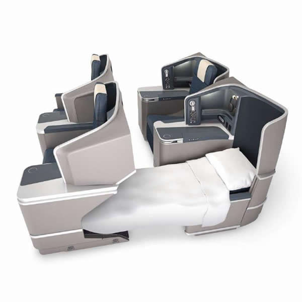 Philippine Airlines business-class
