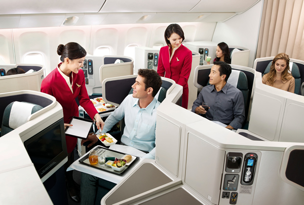 cathay pacific business